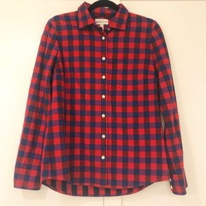 Plaid JCrew Button Down